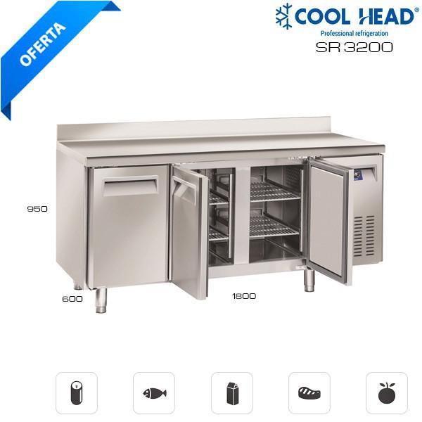 Compre su mesa fría de conservación sr 3200 hostelería