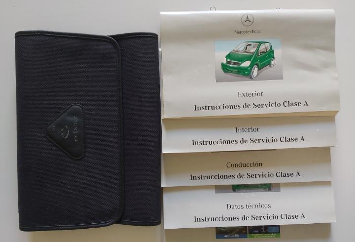 Manual mercedes benz clase a. manual de uso, mantenimiento e