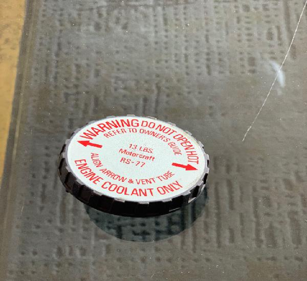 Tapón radiador ford explorer original.