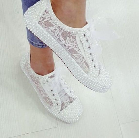 Zapatos de novia para novia diamante de color blanco y