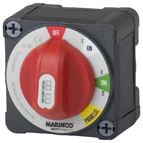Bep marine interruptor de batería de control de banco dual