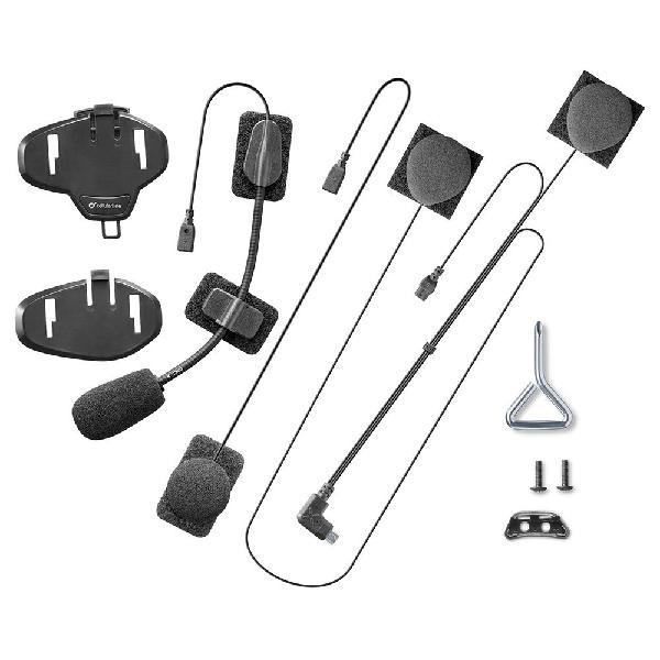 Interphone cellularline kit audio conector flat