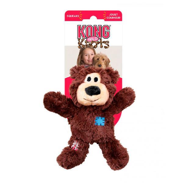 Kong knots oso de peluche con nudos para perros