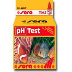 Sera test de ph test agua para acuario