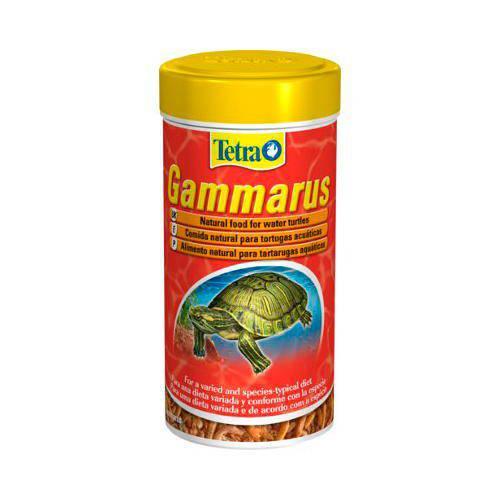 Tetra gammarus comida para para tortugas