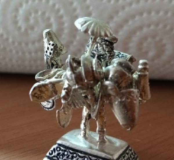 Bonito ekeko de plata 925, dios de la prosperidad y