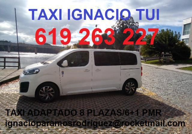 Taxi ignacio tui, servicio 24 horas en tui