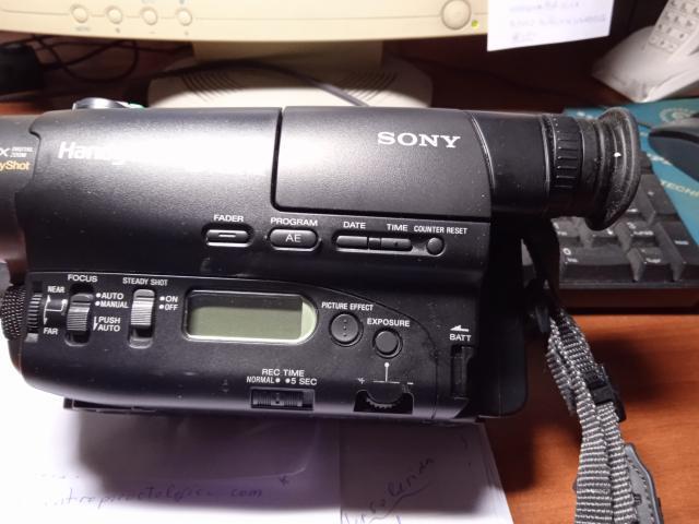 Video cámara 24x handycam video