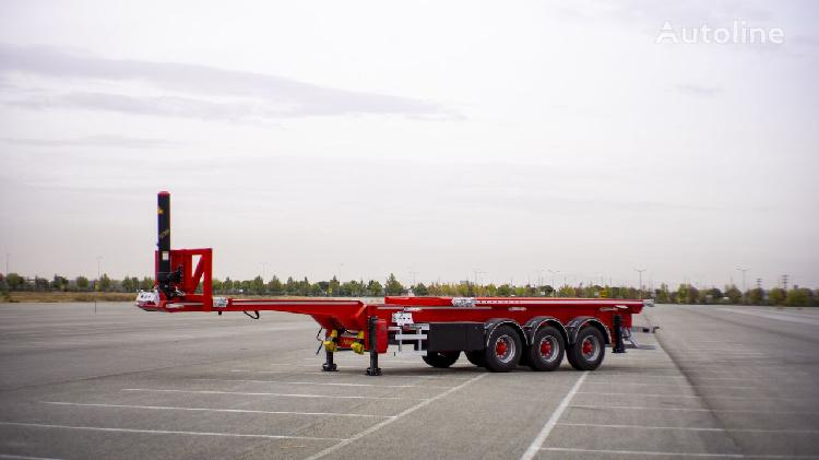 Nova new container tipping chassis production 20,30,40 ft
