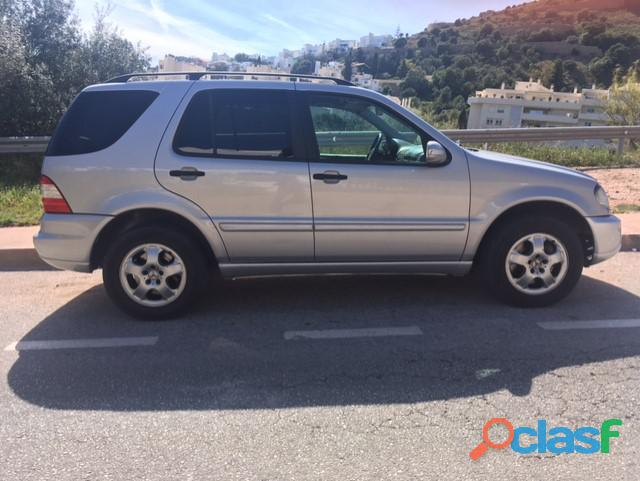 Vendo mercedes ML 270 CDI automatico.