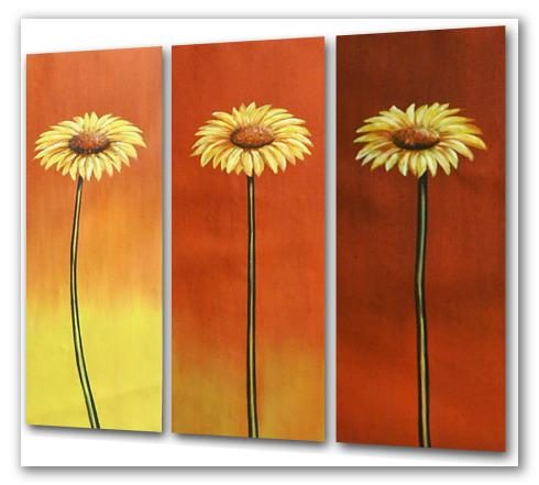 Chic flowers, trípticos deluxe