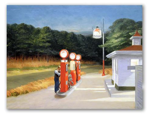 Gasolina, hopper
