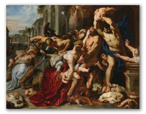 La masacre de los inocentes, Rubens