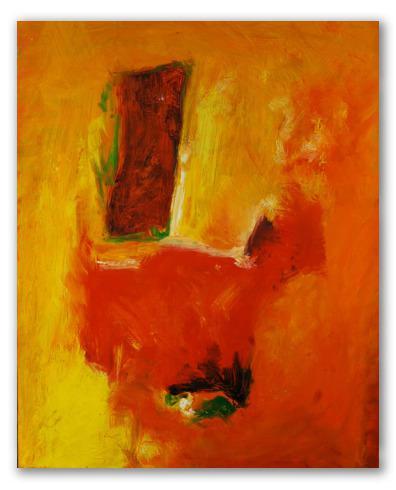 Naranja, abstracto