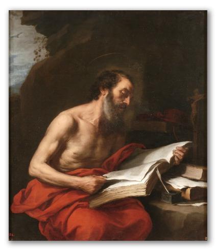 San jerónimo leyendo, murillo