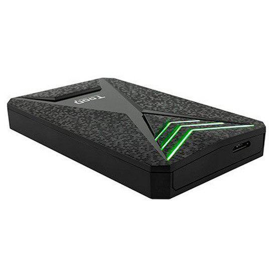 Tooq caja sata 2.5 usb 3.1 gaming led