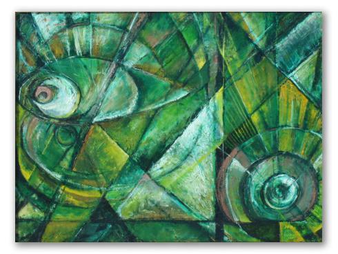 Verde, abstracto