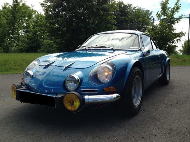 Renault alpine a110 vc 1300 4900euros