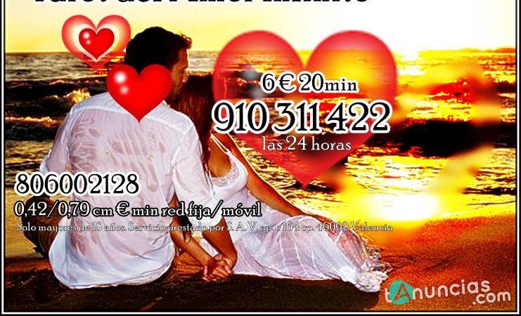 Tarot del amor tarot visa videncia 8 euros 30min
