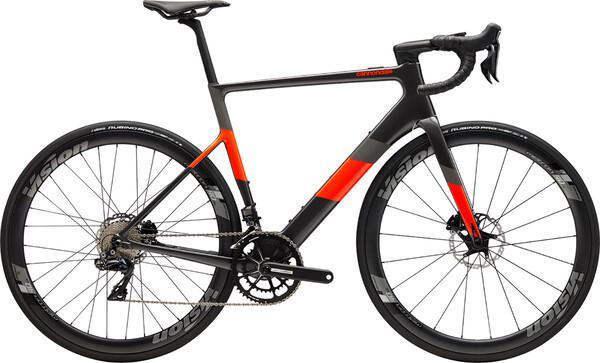 Bicicleta de carrera eléctrica cannondale supersix evo neo