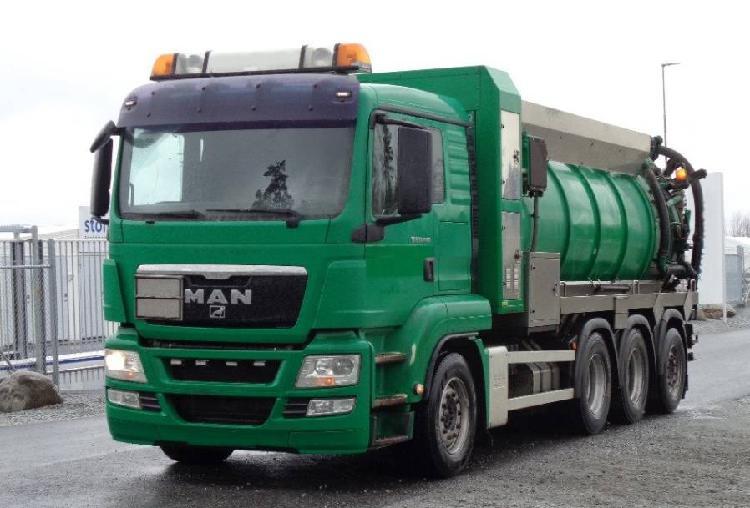 Man tgs 35.440 bl vacuum pump truck en venta
