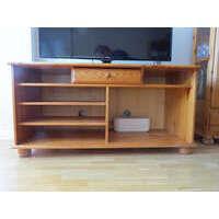 Mueble tv, madera, con varias baldas