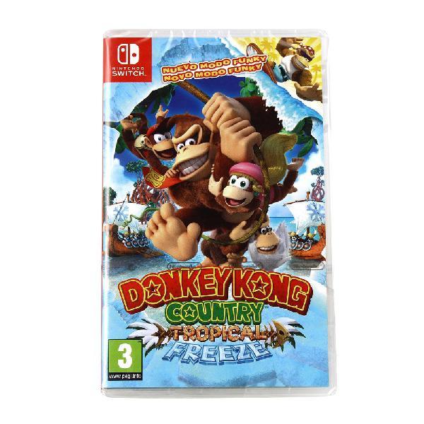 Nintendo donkey kong country tropical freeze switch