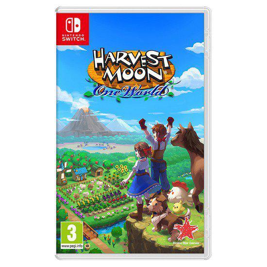 Nintendo harvest moon one world switch