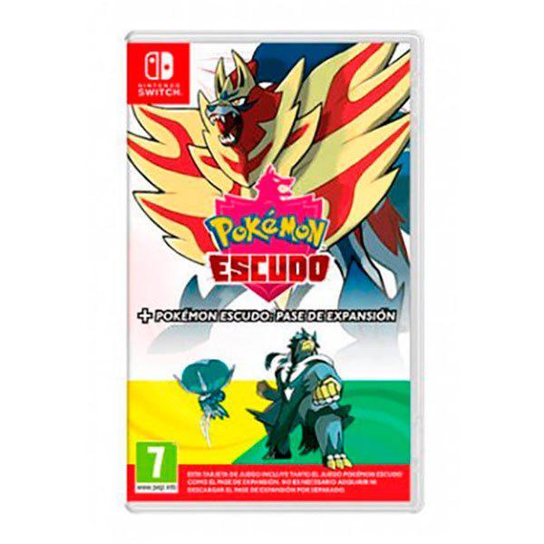 Nintendo switch pokemon escudo+pase de expansión