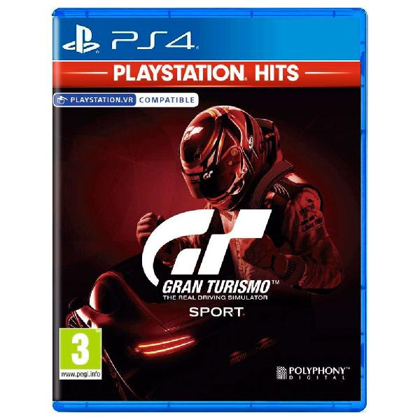 Sony gran turismo sport ps4 hits