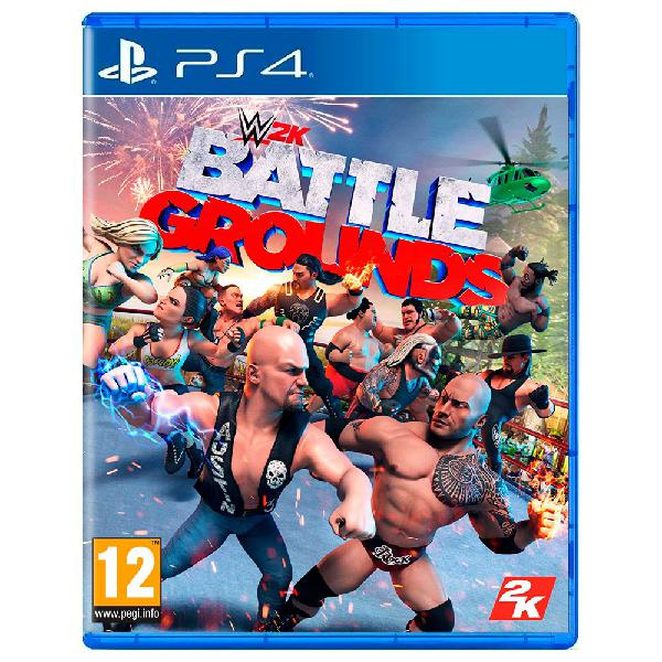 Take 2 games wwe 2k battlegrounds ps4