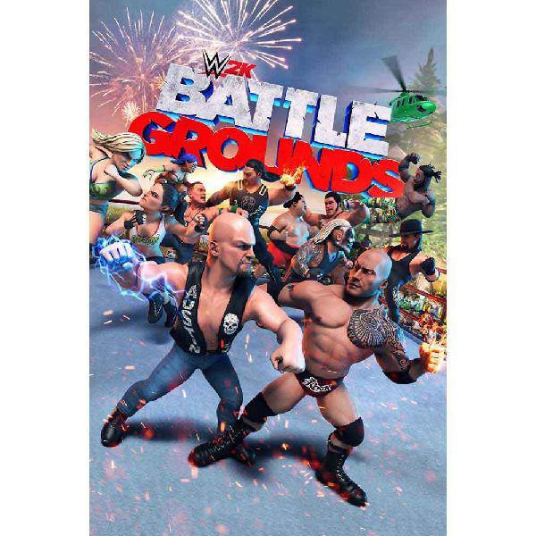 Take 2 games wwe 2k battlegrounds switch