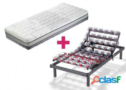 Pack hukla colchón hukla termotech + somier hukla grafeno - 90x190