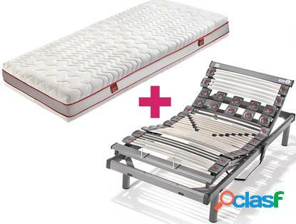 Pack hukla colchón hukla visco plus + somier hukla titanium - 90x190
