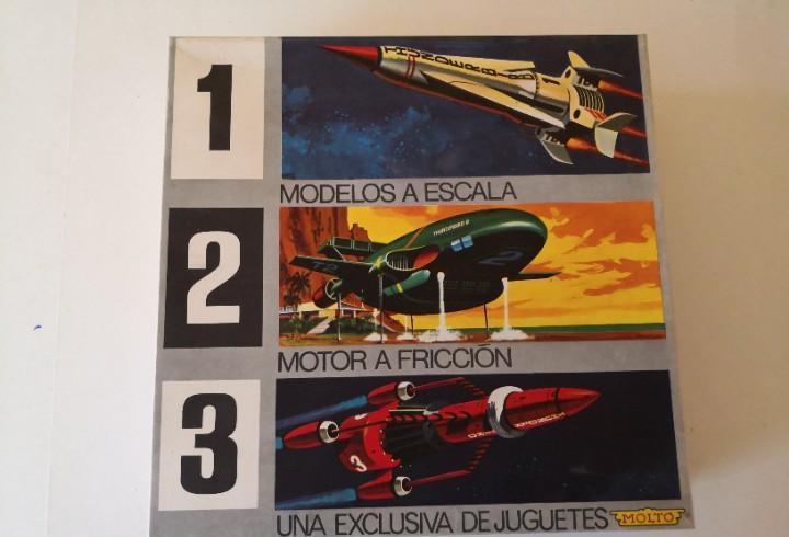 Molto juguete espacial, guardianes del espacio thunderbirds.
