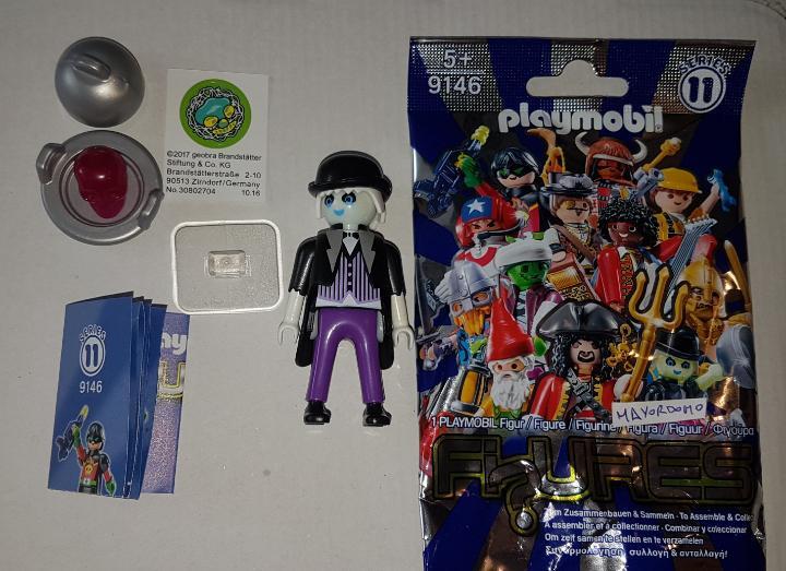 Playmobil serie 11 mayordomo fantasma halloween terror sobre