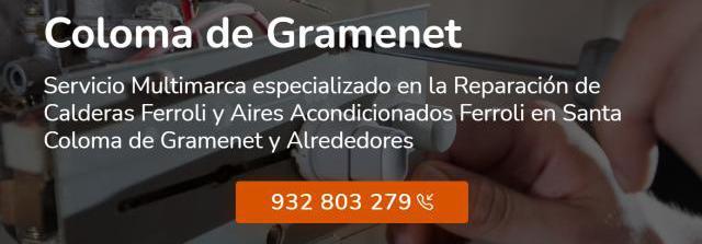 Servicio técnico ferroli santa coloma de gramenet 934242687