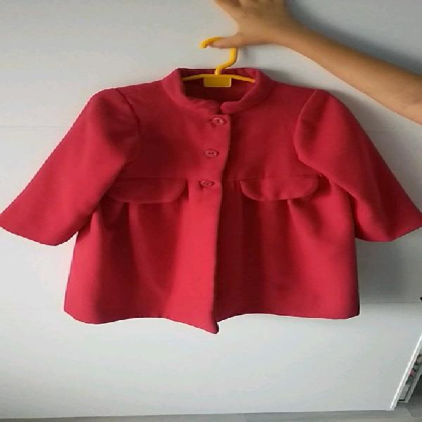 Abrigo paño rojo