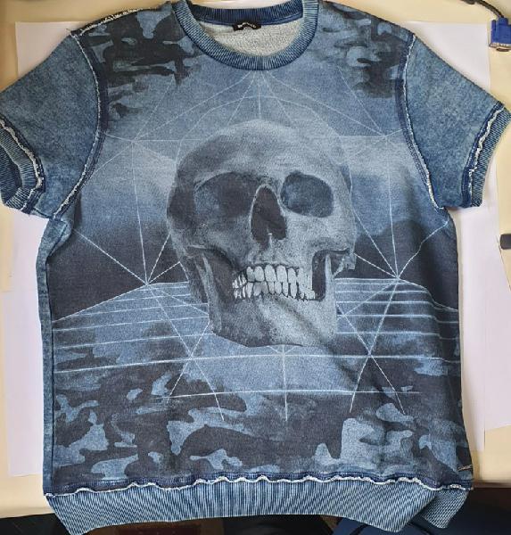 Camiseta diesel t16 100% algodón