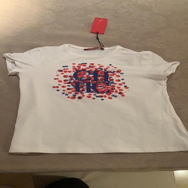Camiseta de manga corta de Carolina Herrera