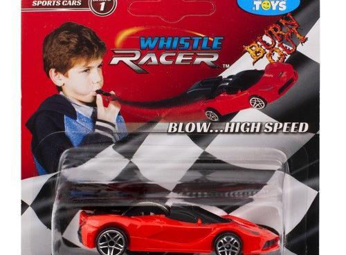 Coches de juguete Whistle Racers