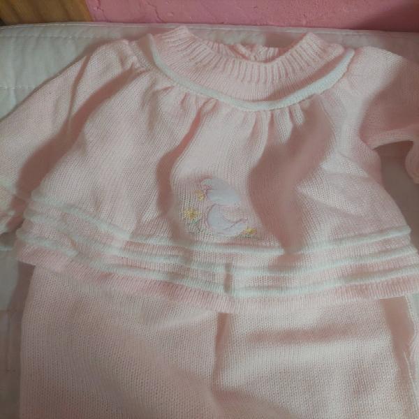 Conjunto de recién nacido de niña
