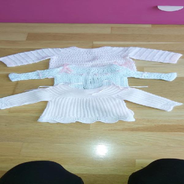 Pack 3 jerseys punto bebé