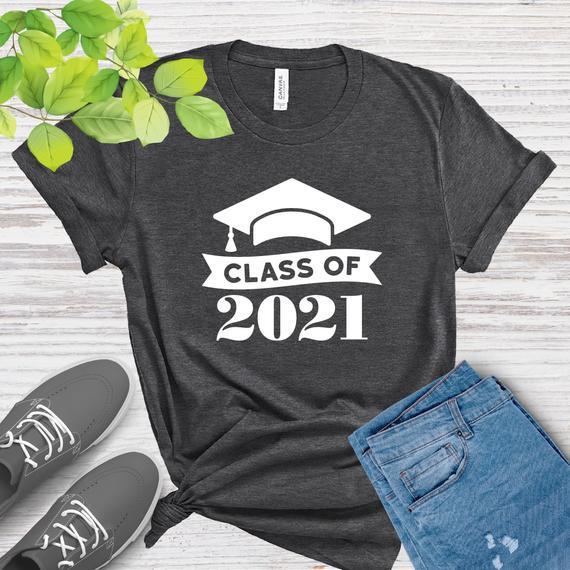 Clase de camisa 2021, regalo de camisa de graduación,