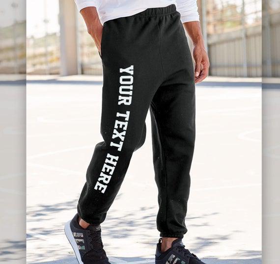 Hombres - mujeres - joggers personalizados de los jóvenes &