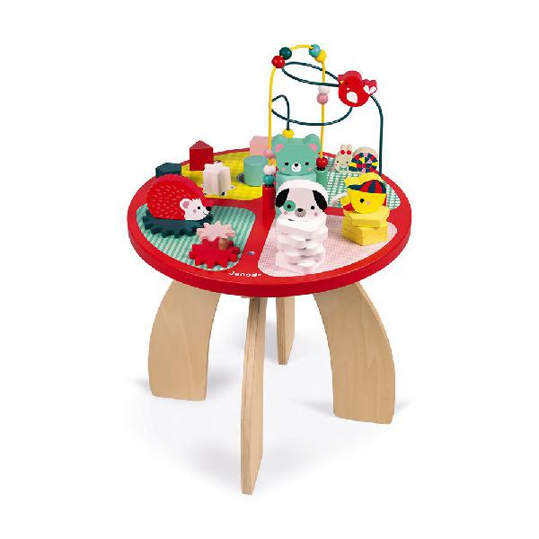 Janod mesa de actividades baby forest