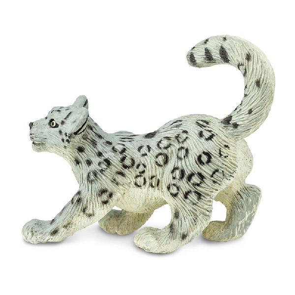 Safari ltd leopardo de las nieves cachorro
