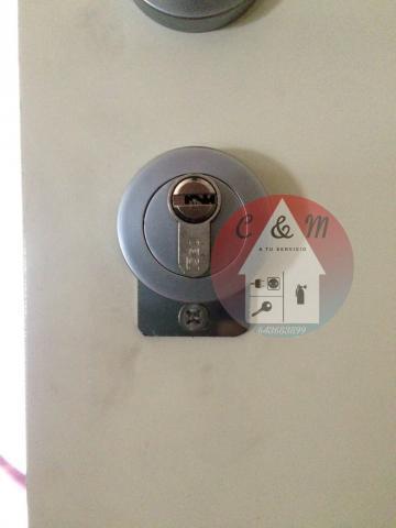 Cambiar e instalación cerraduras de seguridad