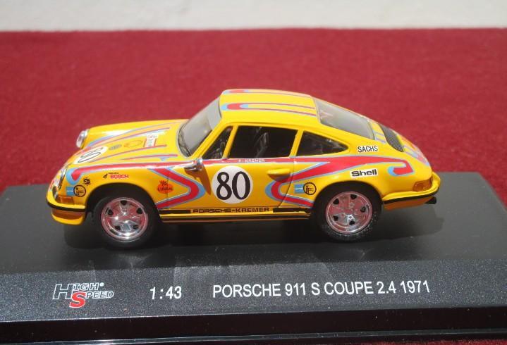 High speed - porsche 911 s coupe 2.4 1971 - escala 1/43