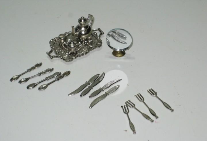 Lote accesorios casa de muñecas